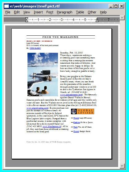 Rich Text Edit Control is Pure Editor JavaScript - RTF